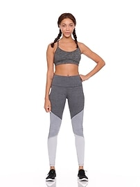 c21b3ed7f4a8d High-Rise Color-Block Elevate Compression Leggings for Women | Old Navy