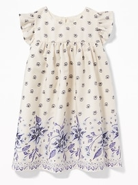 Floral Babydoll Dress for Baby