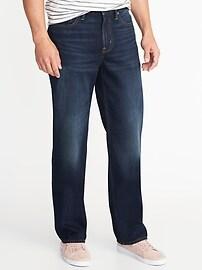 Rigid Loose Jeans for Men