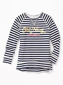 Logo-Graphic Pullover Sweatshirt for Girls