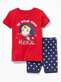 2-Piece DC Comics&#153 Wonder Woman Sleep Set for Toddler & Baby
