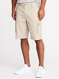 Short cargo Built-In Flex d'aspect usé pour homme (25 cm)
