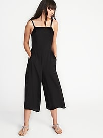 Sleeveless Cami Jumpsuit for Women