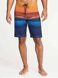 Short de surfeur à imprimé Built-In Flex pour homme (25cm)