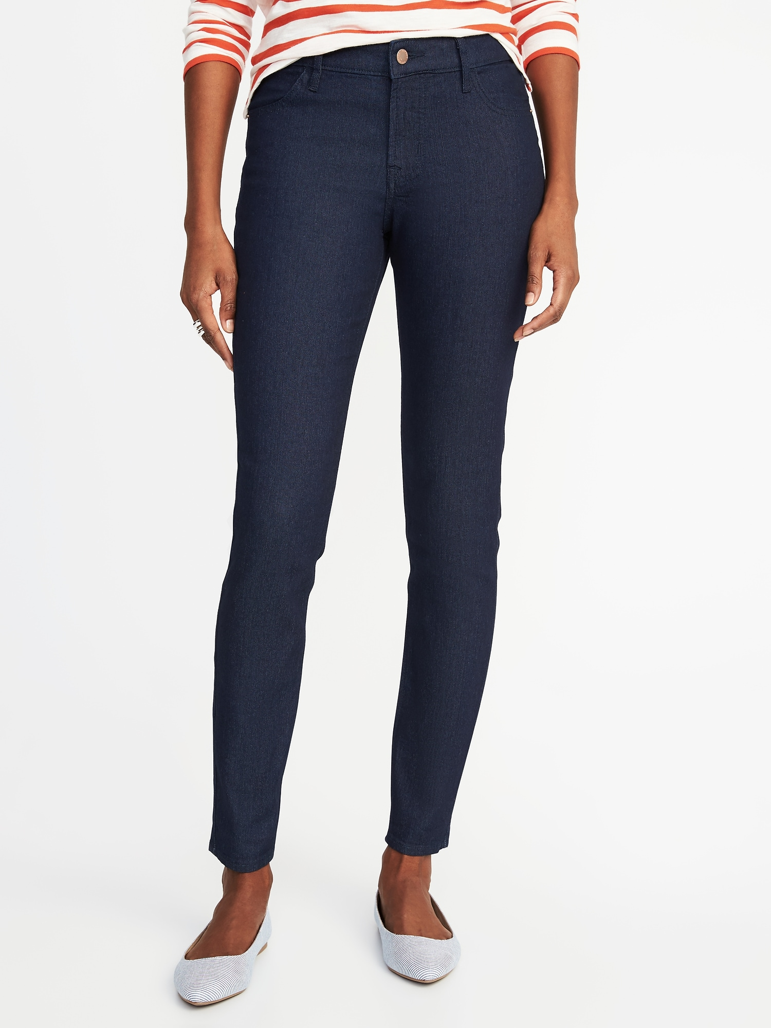 19e8283ba67dd Mid-Rise Super Skinny Jeans for Women