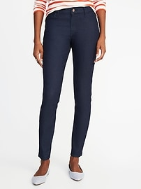 Jegging taille moyenne super moulante pour femme