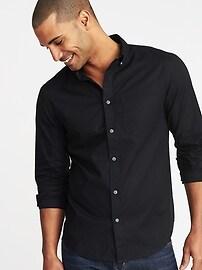 Chemise à poche, coupe étroite pour homme
