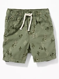 Printed Pull-On Shorts for Toddler Boys