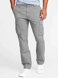 Straight Broken-In Cargos for Men