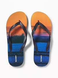 Graphic Flip-Flops for Men