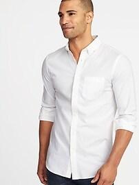 Slim-Fit Built-In Flex Classic Shirt for Men
