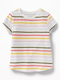 Printed Jersey Tee for Toddler Girls