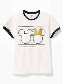 Disney&#169 Mickey and Minnie Mouse Graphic Tee for Girls