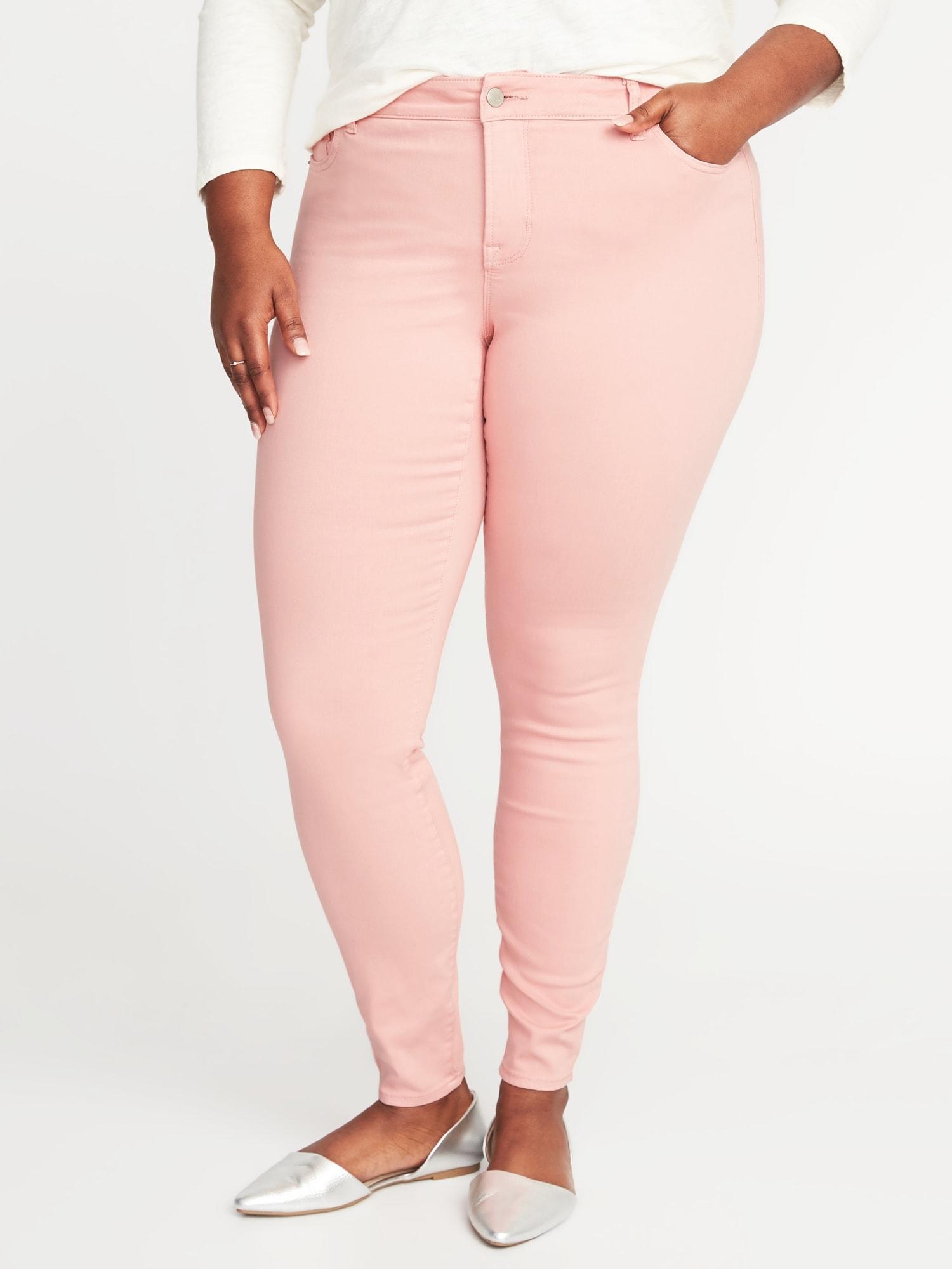 6d21a9b7e12 High-Rise Secret-Slim Pockets Plus-Size Rockstar Jeans