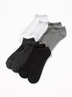 Low-Cut Socks 4-Pack for Men