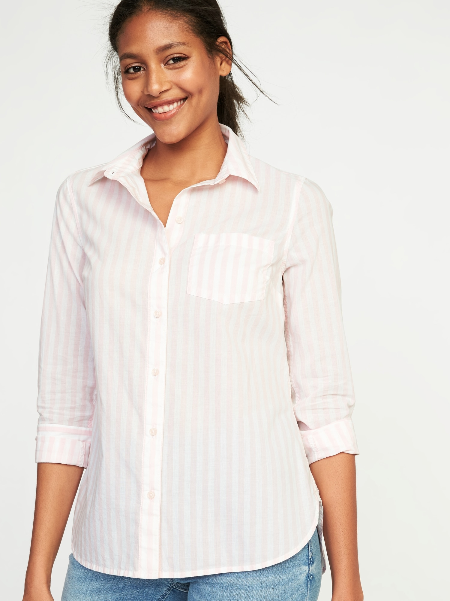 bce7224a05 Relaxed Classic Shirt for Women