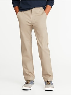 Uniform Built-In Flex Stain-Resistant Skinny Khakis for Boys