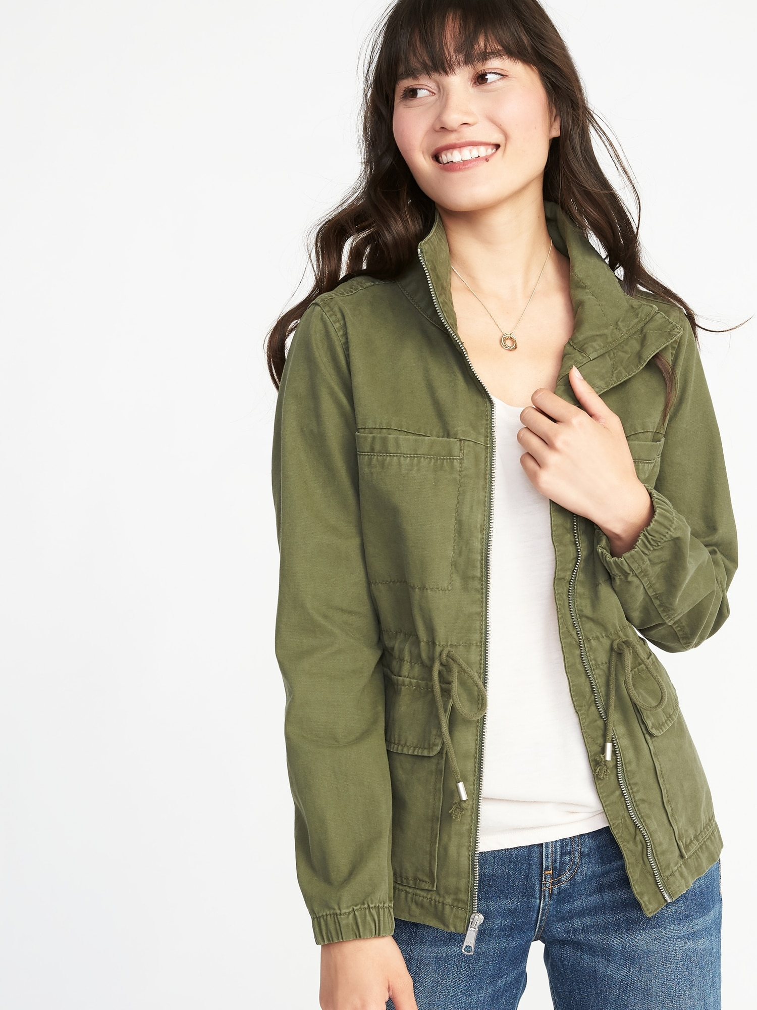 06d226a305d Twill Field Jacket for Women