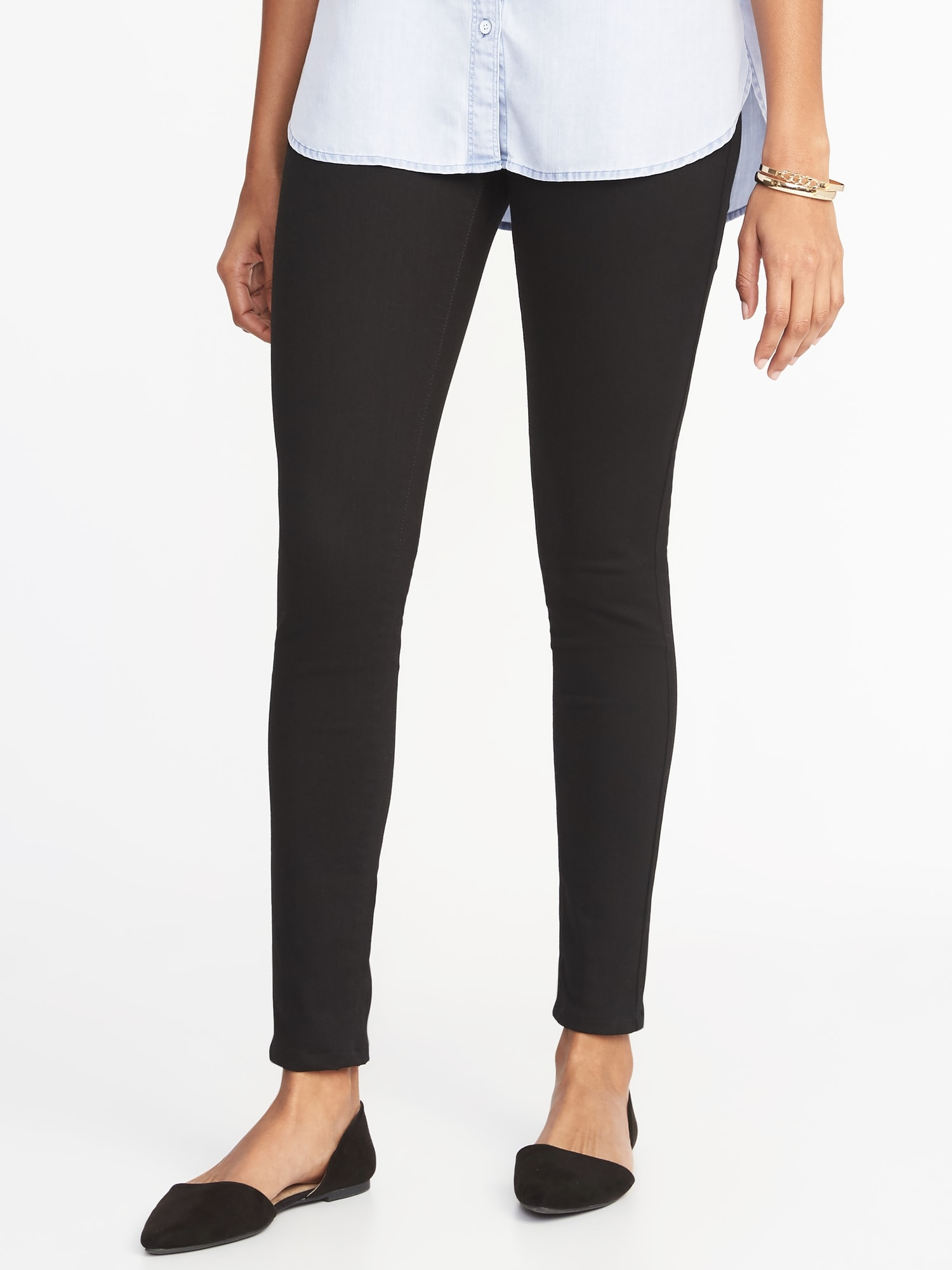 9a0935323f5ab Built-In Sculpt Never-Fade Rockstar Jeggings for Women | Old Navy