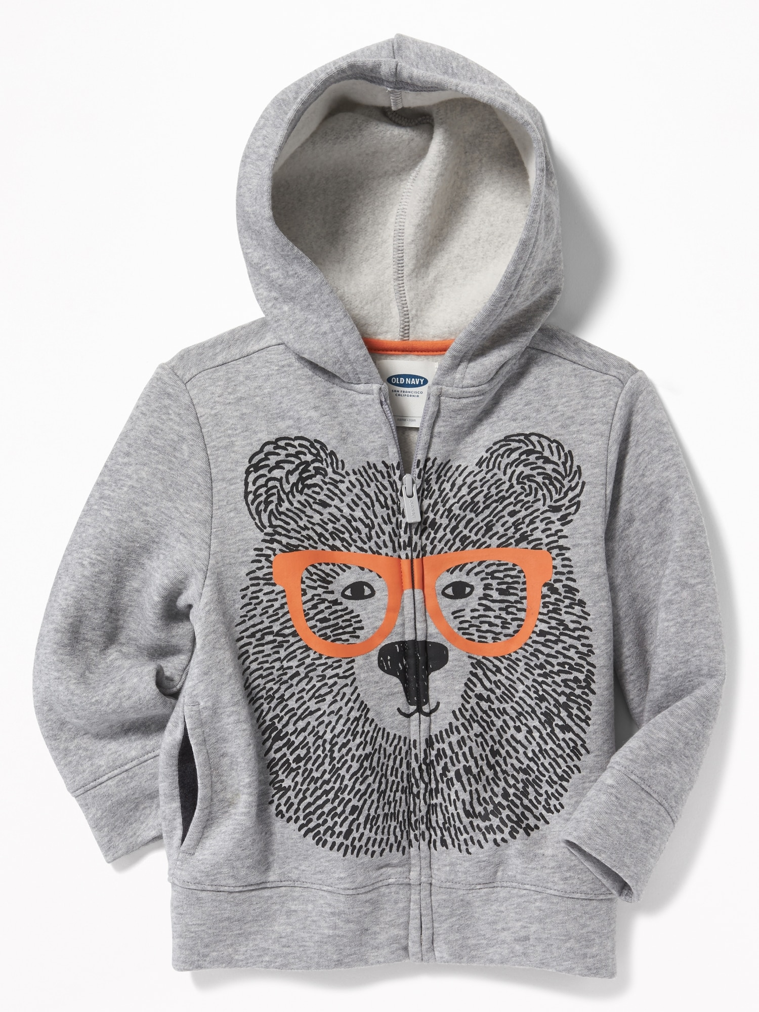 f5438e623 Bear Graphic Zip Hoodie for Toddler Boys | Old Navy