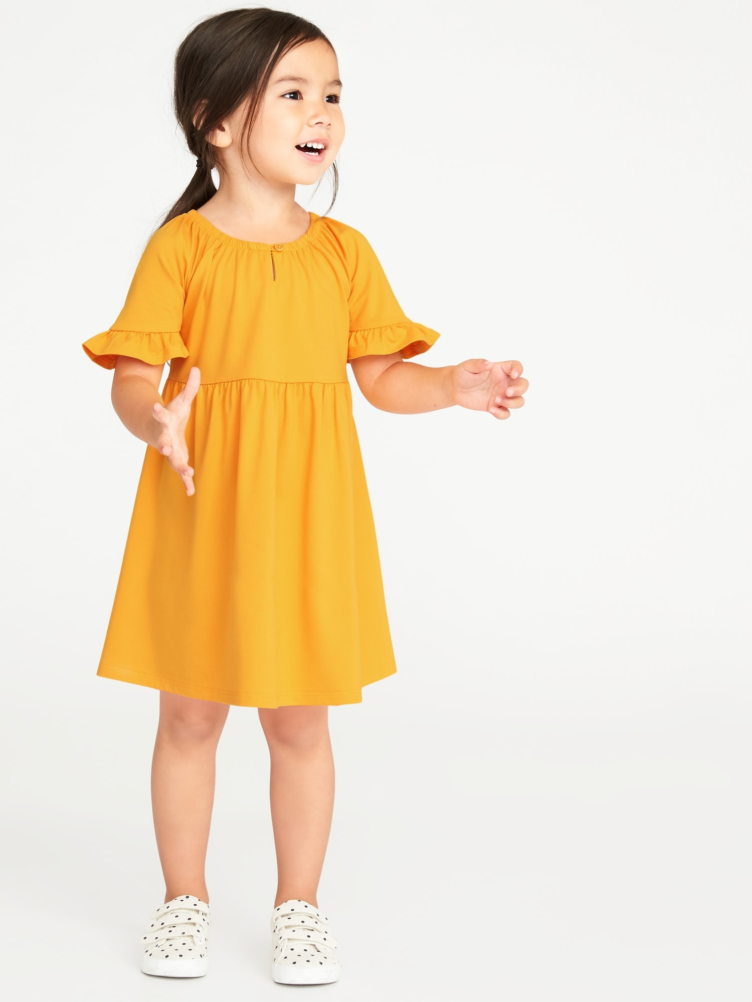 c8b70a50f06de Fit & Flare Jersey Dress for Toddler Girls | Old Navy