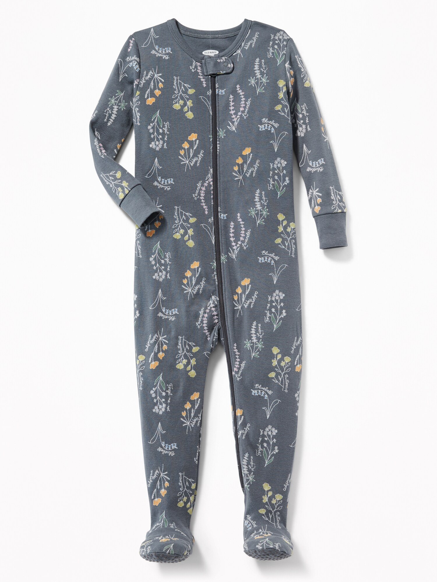 ca82c638b Floral Footed Sleeper for Toddler Girls   Baby