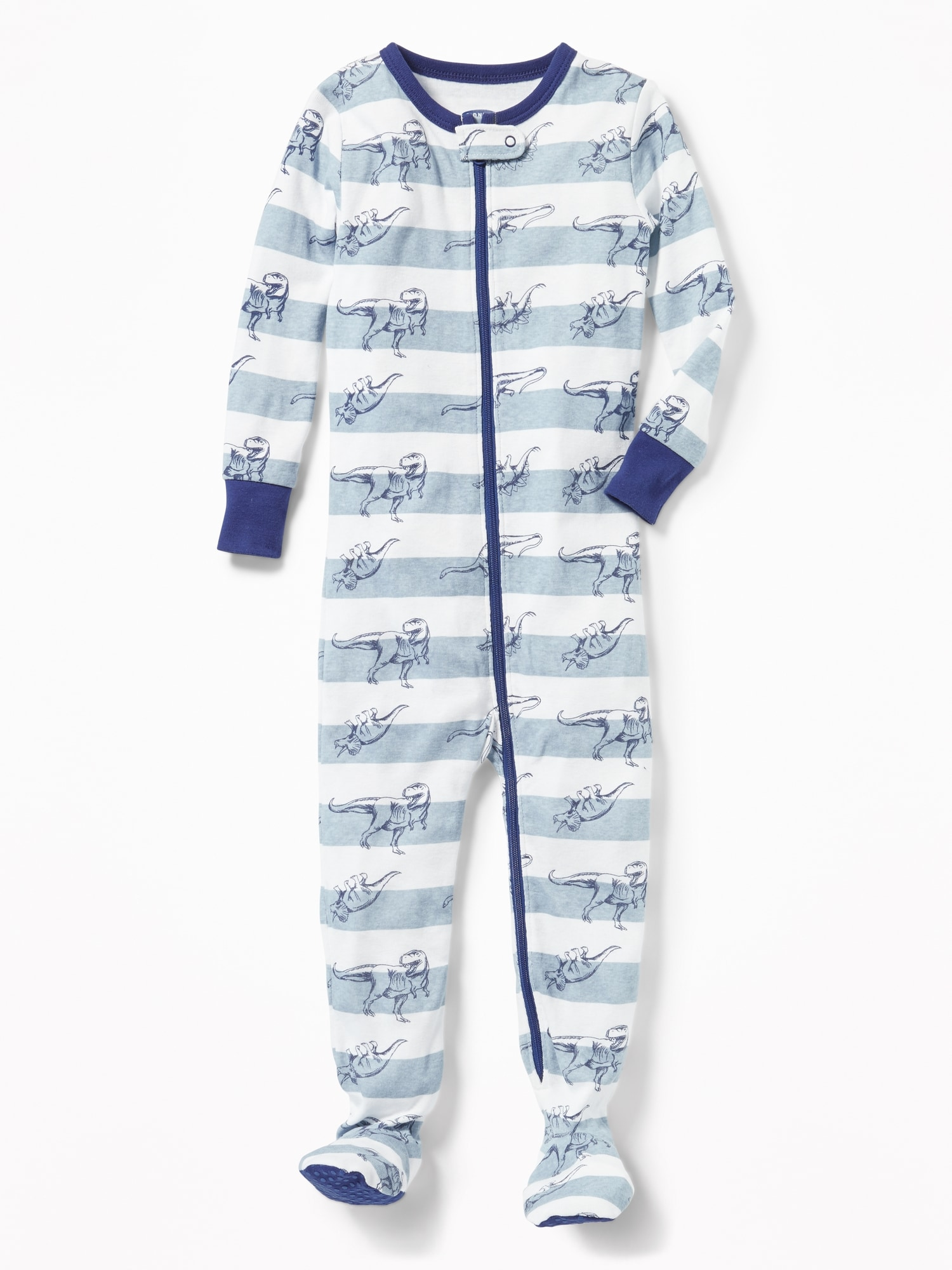48e0a7fe4 Dinosaur-Print Footed Sleeper for Toddler Boys & Baby | Old Navy