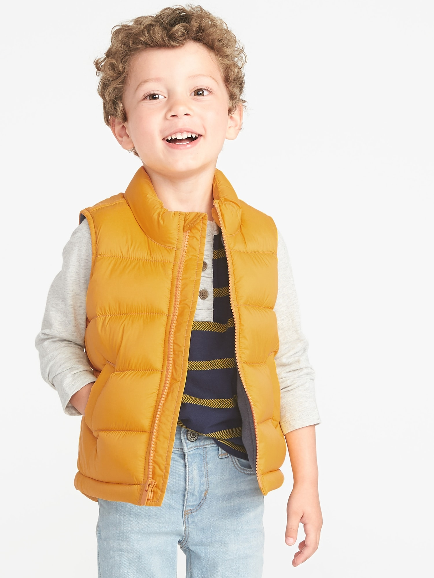 bd4e7803d66f Frost-Free Puffer Vest for Toddler Boys