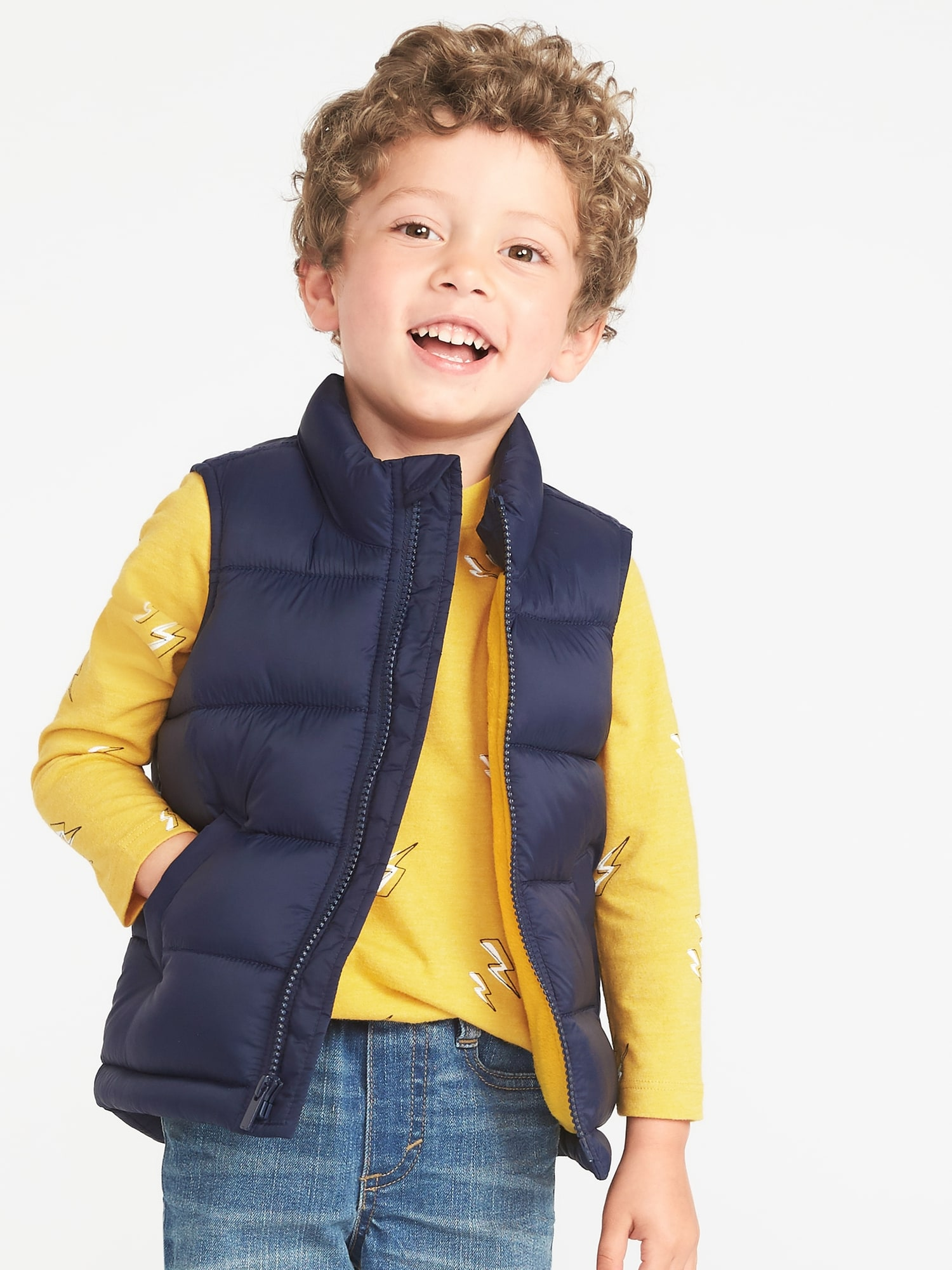 03c822f6c1c1 Frost-Free Vest for Toddler Boys