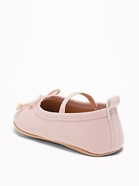 546ef31d430 Faux-Leather Ballet Flats for Baby