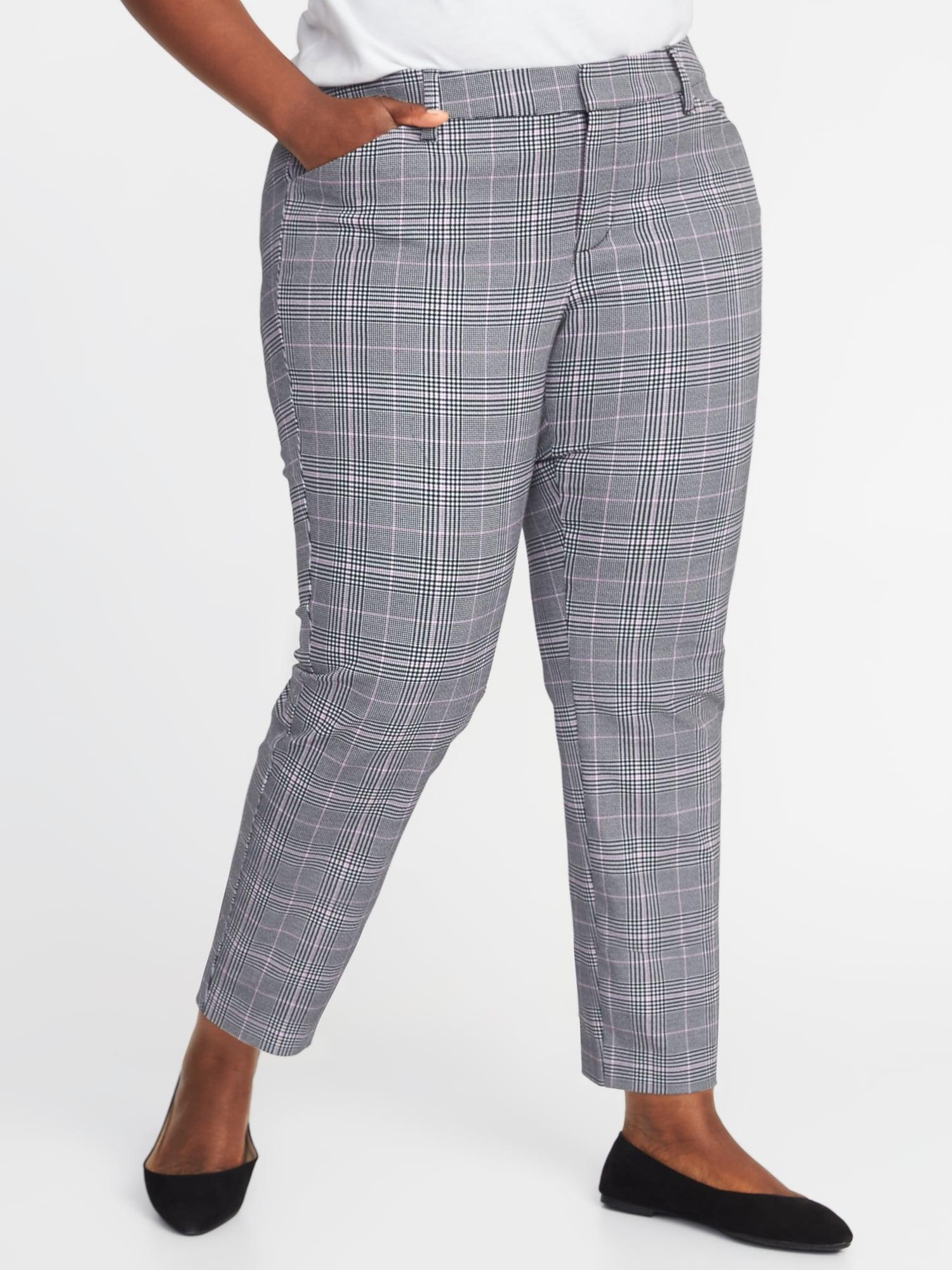 70cbed06a68 Mid-Rise Secret-Slim Pockets Plus-Size Pixie Ankle Pants