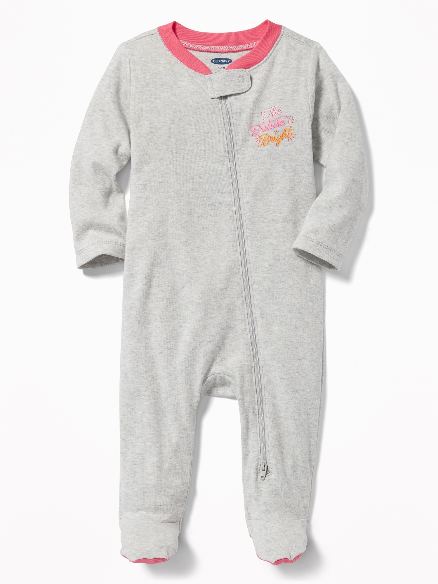 ea01fdea0181 Footed One-Piece for Baby