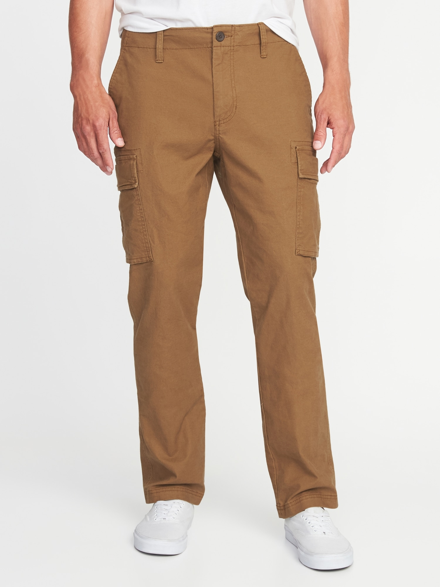 c37ae0689a9d5 Straight Lived-In Built-In Flex Cargos for Men