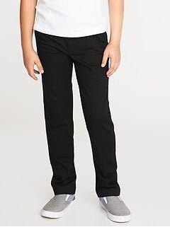 Pantalon d'uniforme moulant Built-In Flex pour garçon