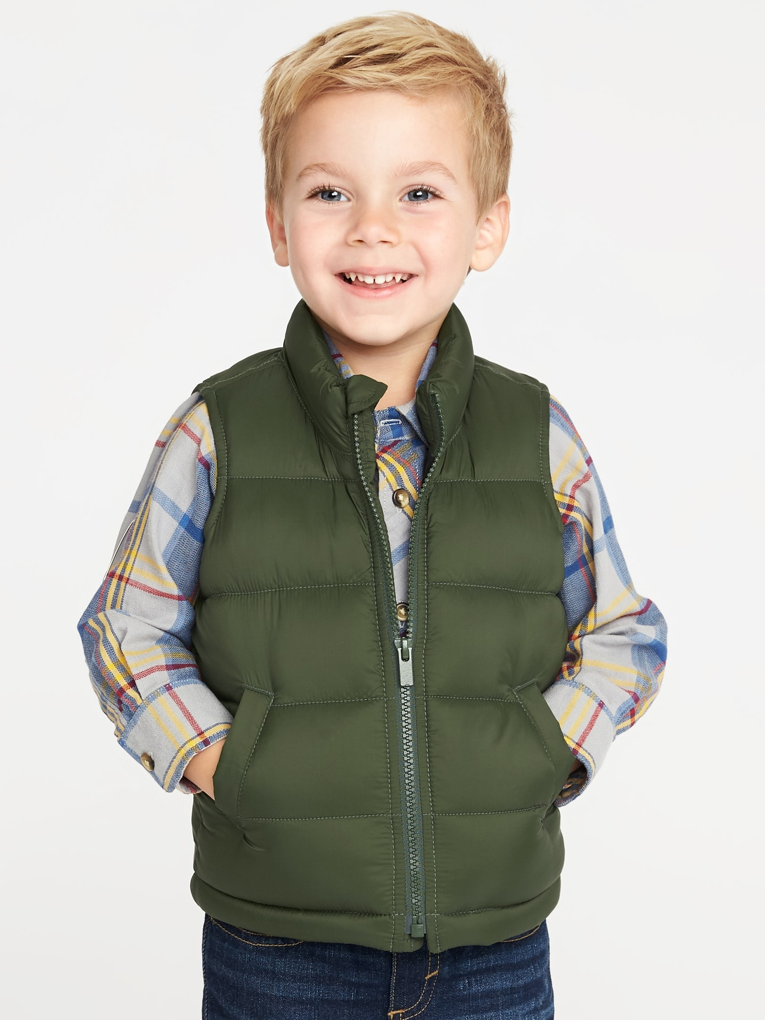 3b139873d Frost-Free Puffer Vest for Toddler Boys