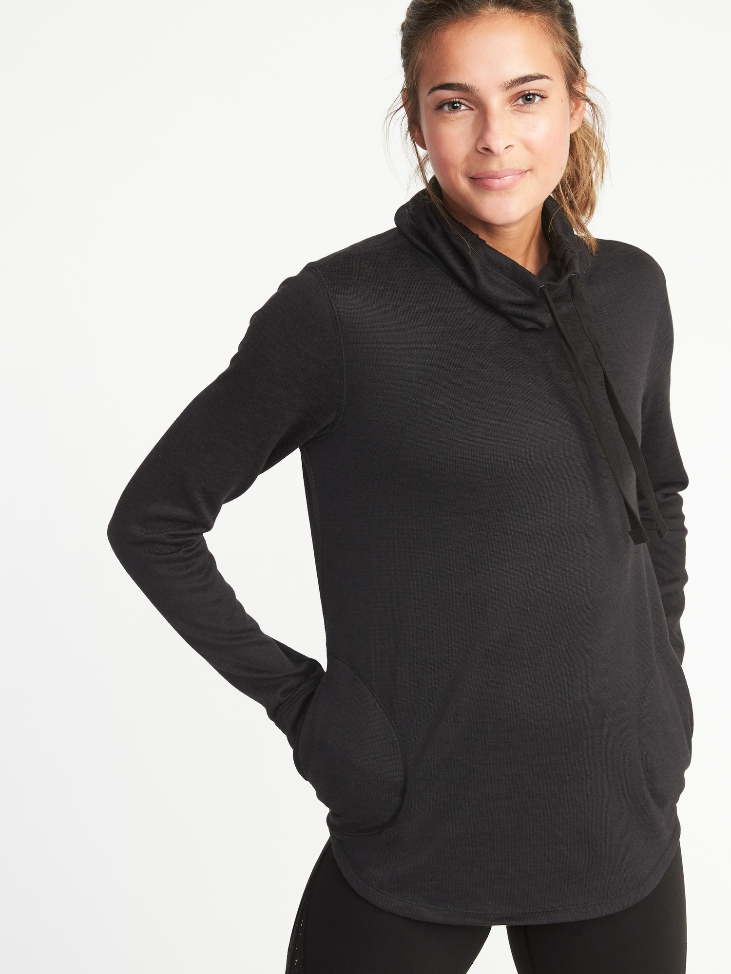 aa300f23a73eaa Funnel-Neck Sweater-Knit Performance Pullover for Women | Old Navy