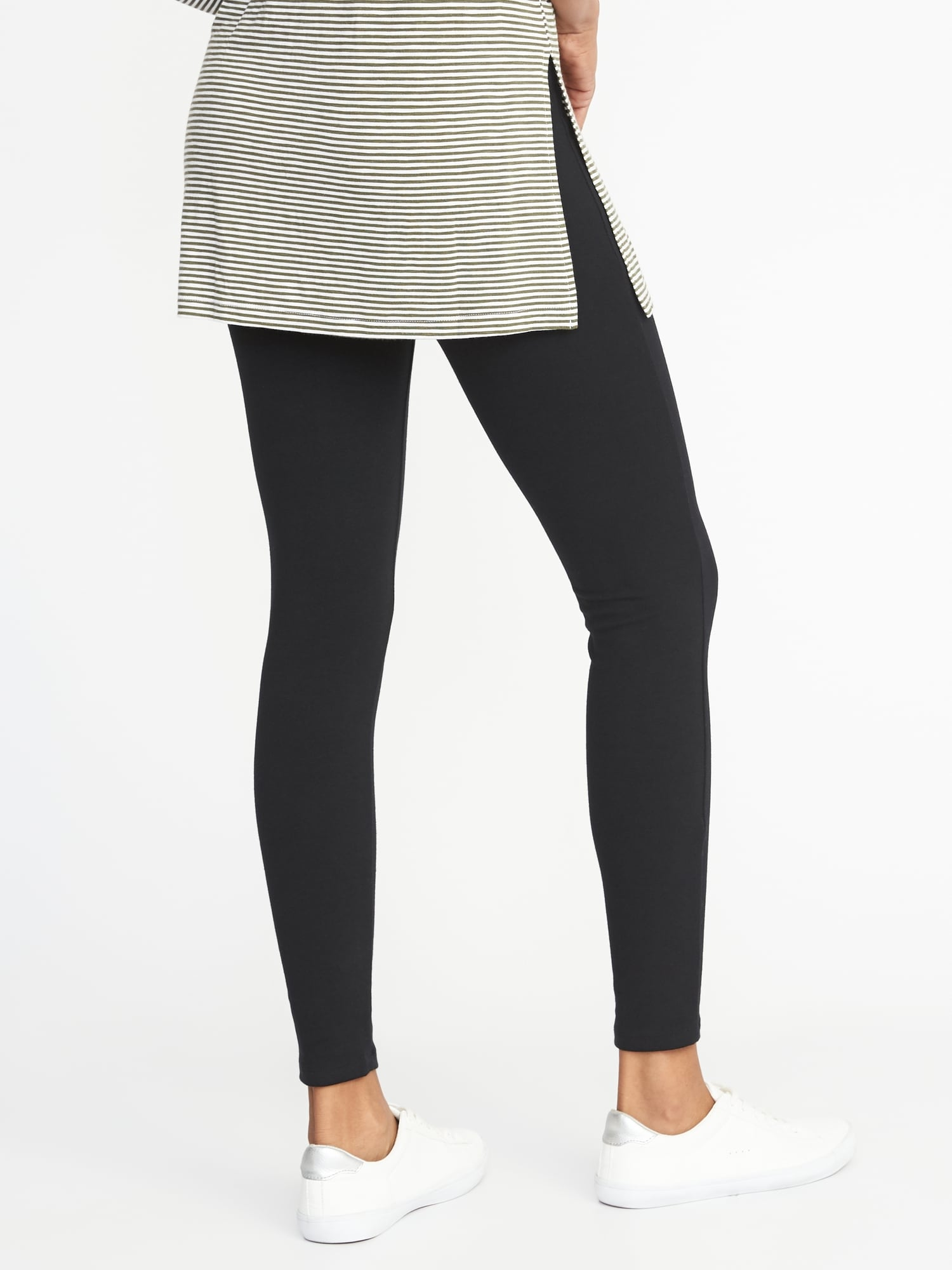 ac78a5ffa63a5c Jersey Elastic-Waist Leggings for Women   Old Navy