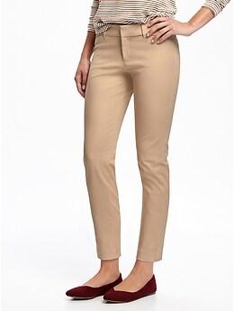 Pantalon The Pixie taille moyenne à la cheville coupe étroite, pour femme