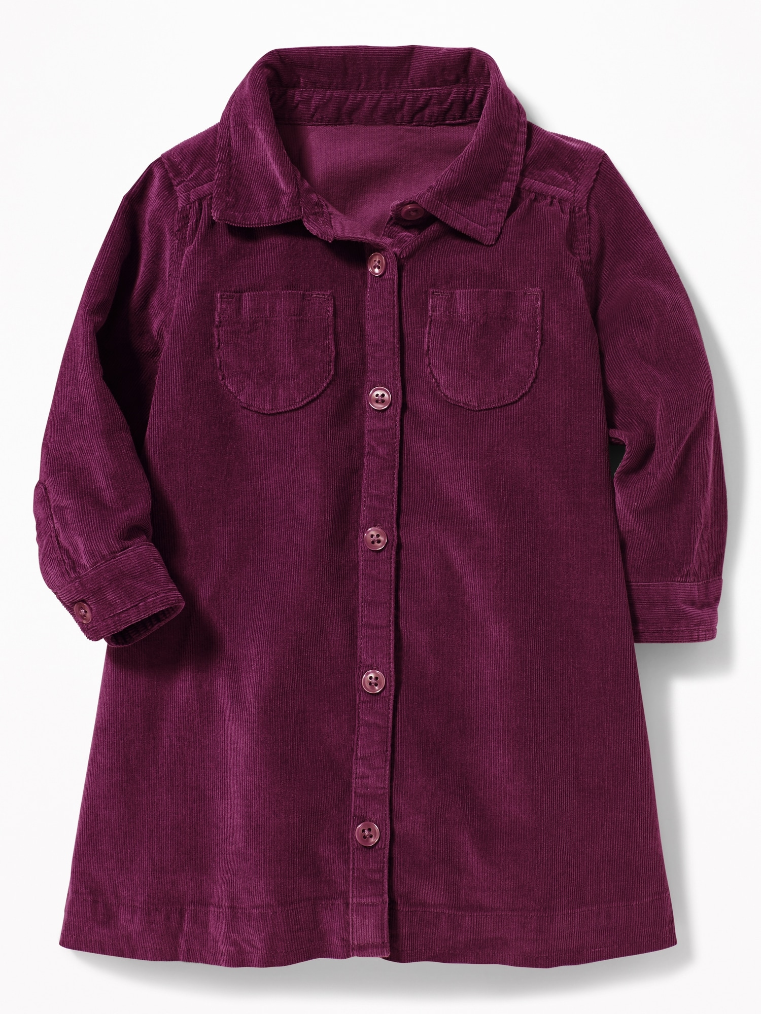 048b0e1c8c Corduroy Shirt Dress for Baby | Old Navy