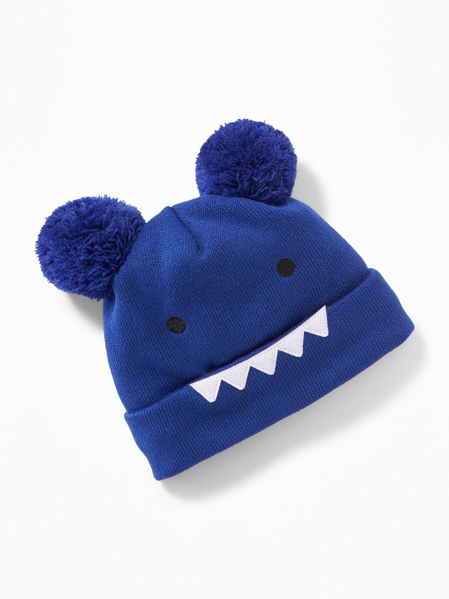 Monster Critter Pom-Pom Beanie for Toddler   Baby  65e7b51ef003