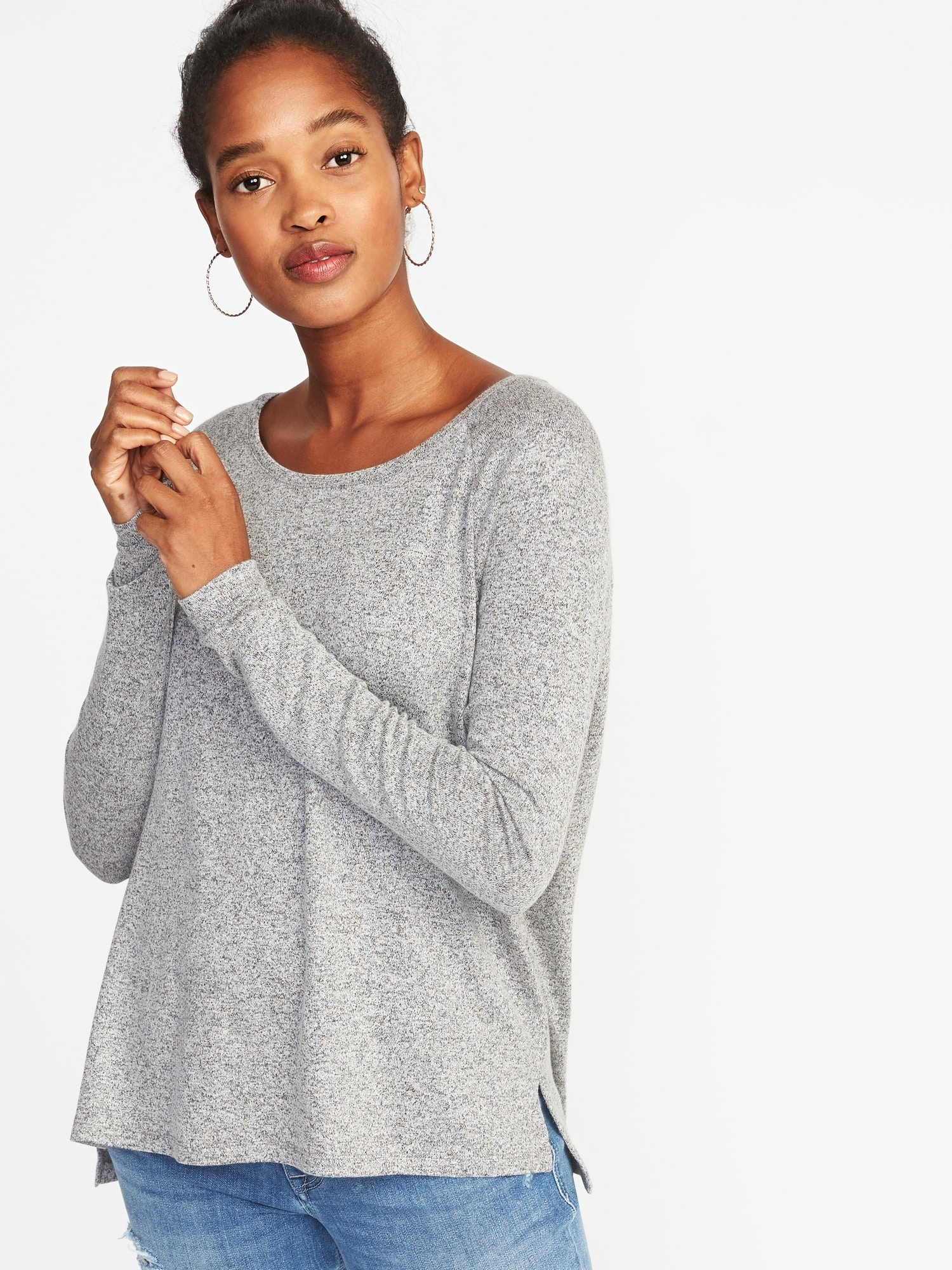 7dfdaf6d34 Loose Luxe Soft-Spun Tee for Women | Old Navy
