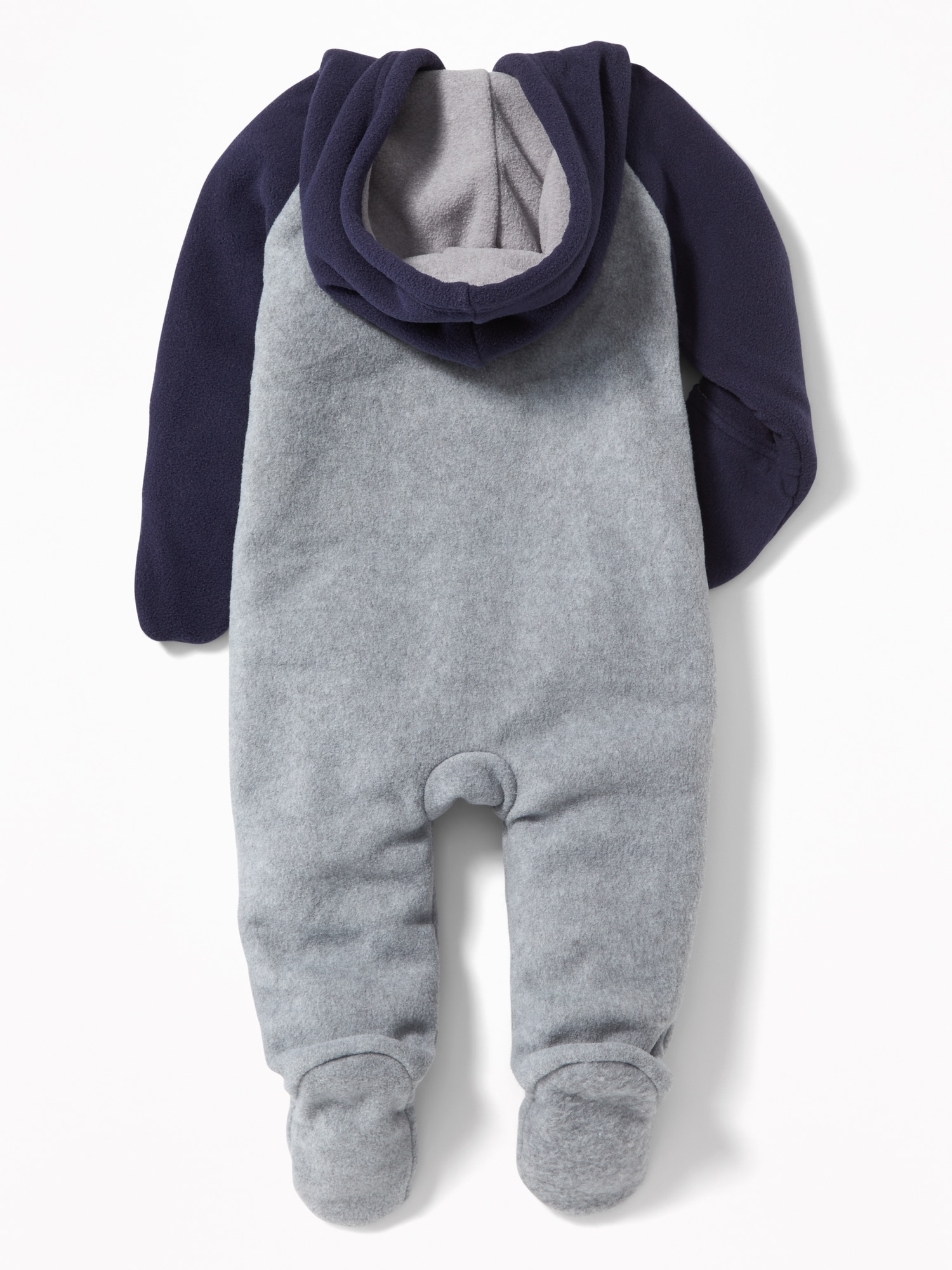 78f13f104 Micro Fleece Bear Critter One-Piece for Baby