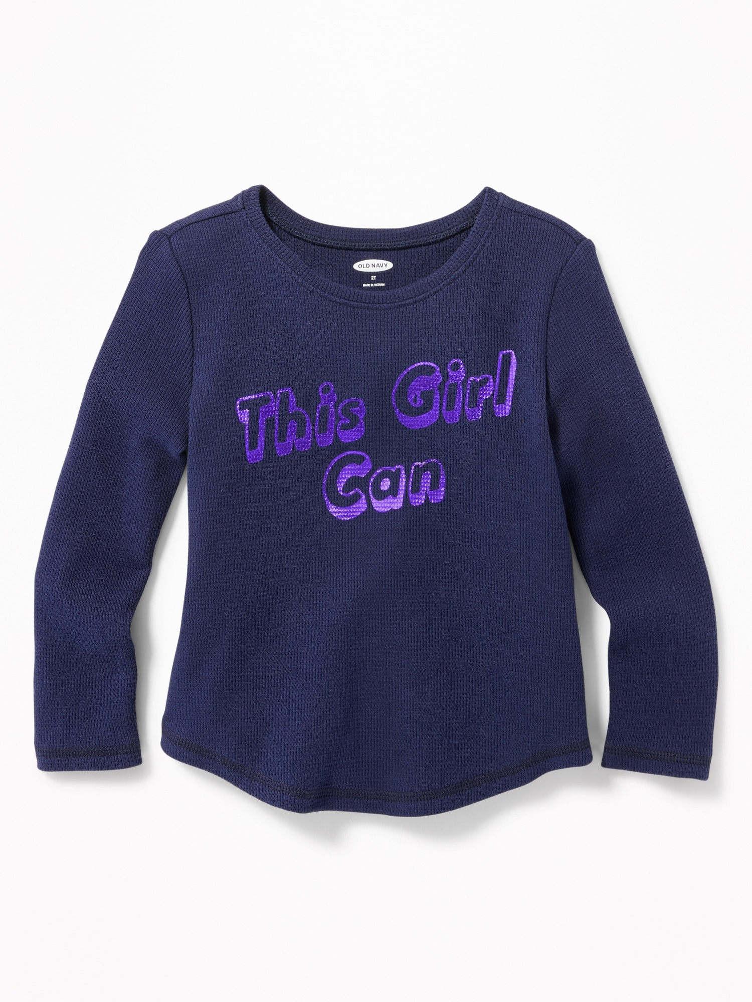 66b1038d4 Printed Thermal-Knit Tee for Toddler Girls