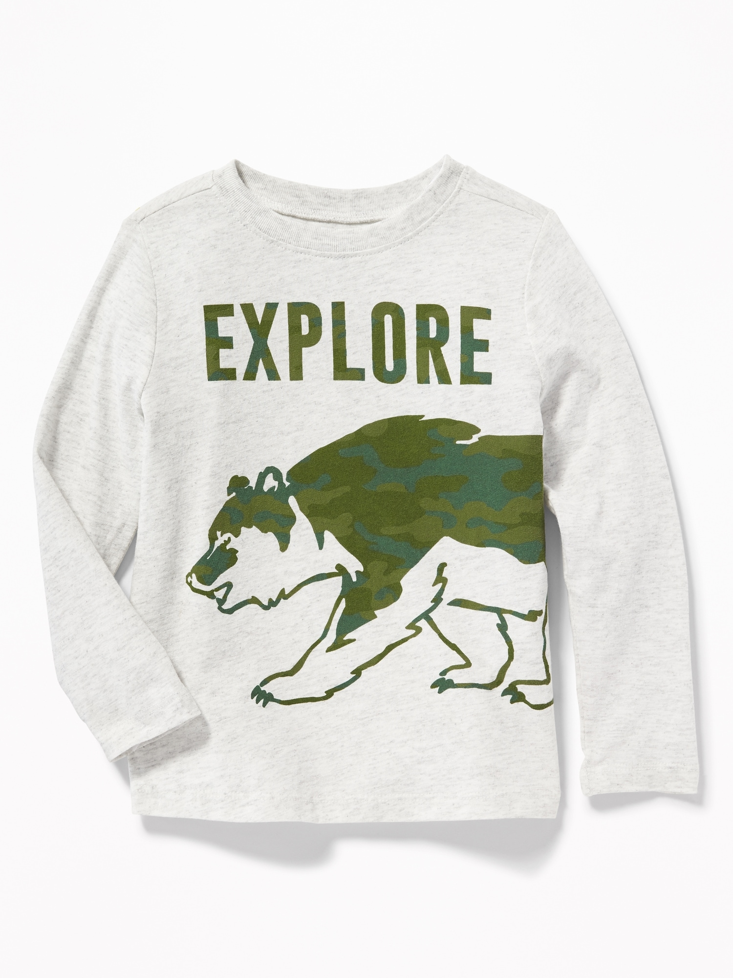 47efb8a243595 Graphic Crew Neck Tee for Toddler Boys