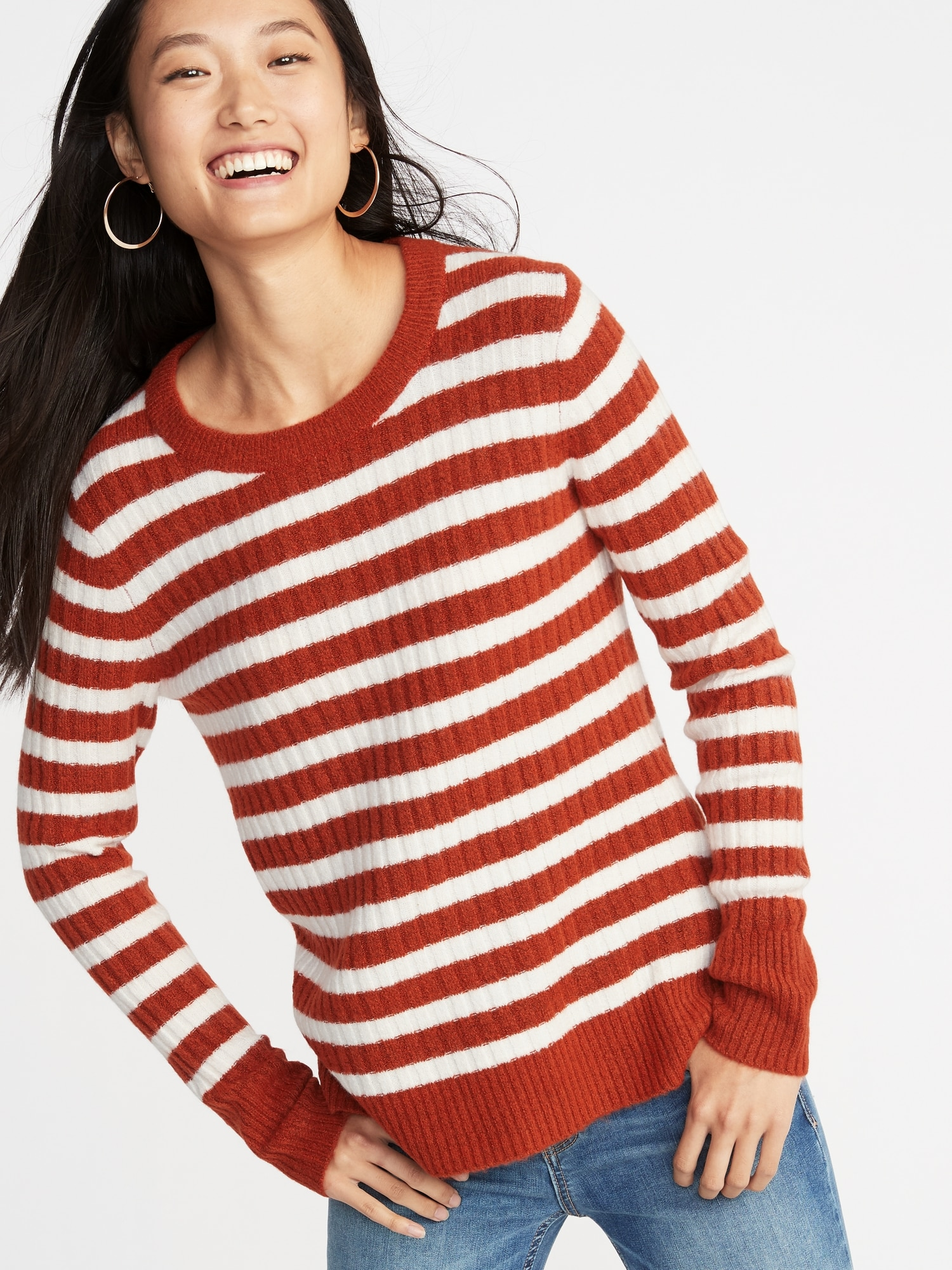 f173b3ef Cozy Crew-Neck Sweater for Women | Old Navy