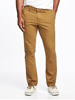 Slim Ultimate Built-In Flex Chinos for Men