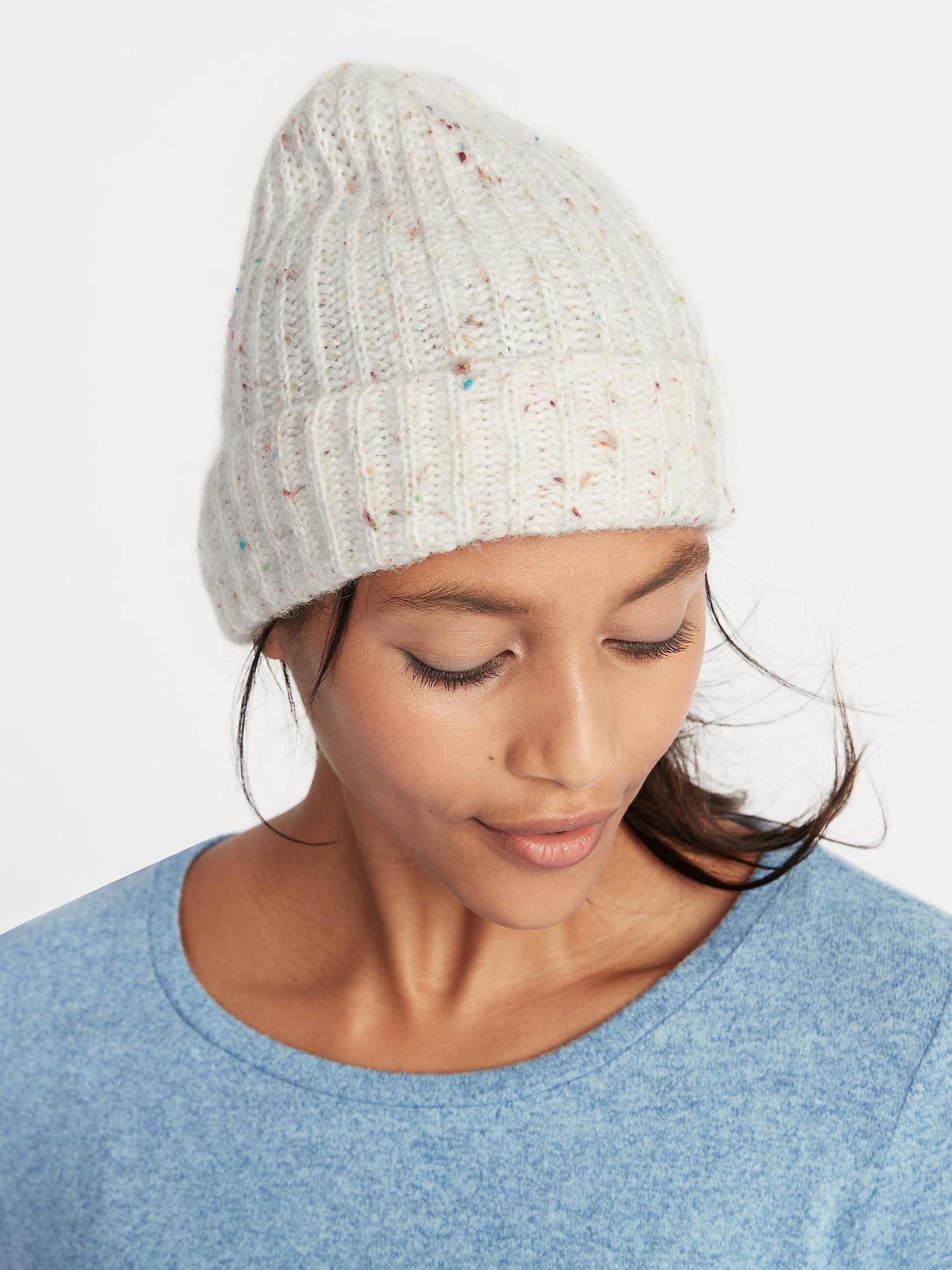 db71ff3f1f7 Rib-Knit Beanie for Women