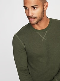 8b492982a80 Soft-Washed Thermal Crew-Neck Tee for Men