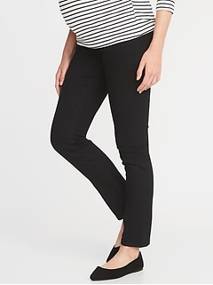 Maternity Side-Panel Skinny Jeans