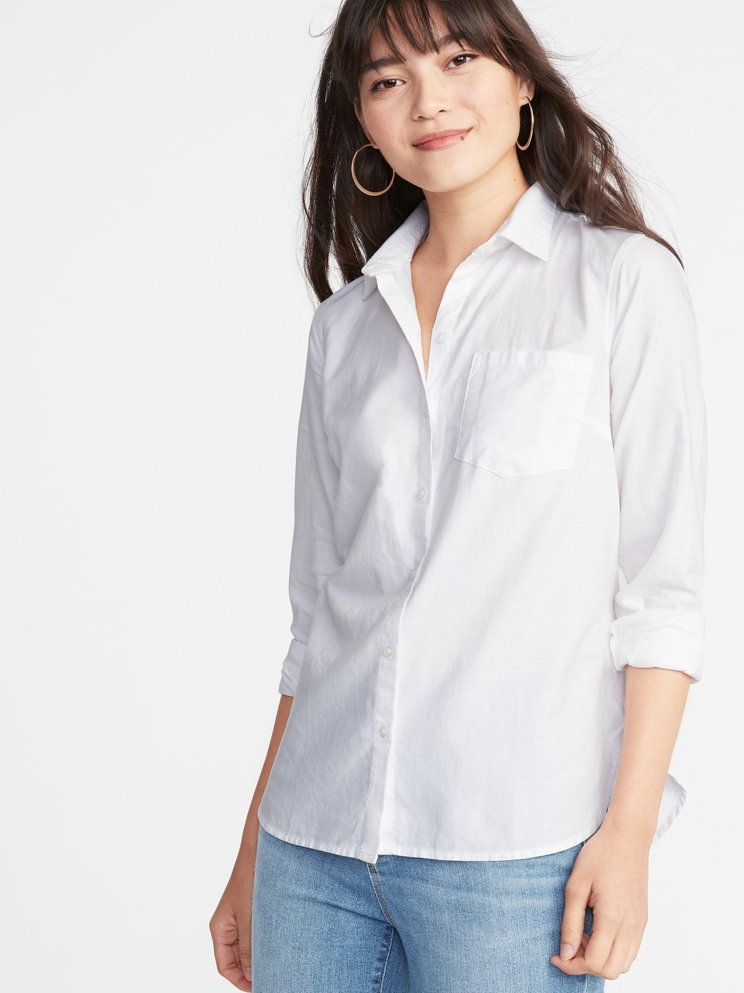 c5e41d2e165 Relaxed Classic Shirt for Women